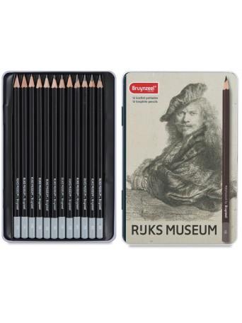bruynzeel® Grafit Rijks museum - 12 ks.