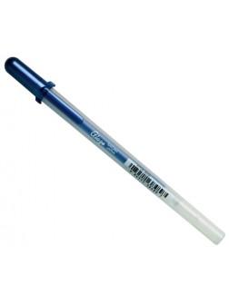 Gelové pero glazura - Modrá