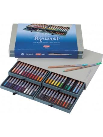 bruynzeel® Pastelky Akvarel Design® - sada 48 ks. se štětcem