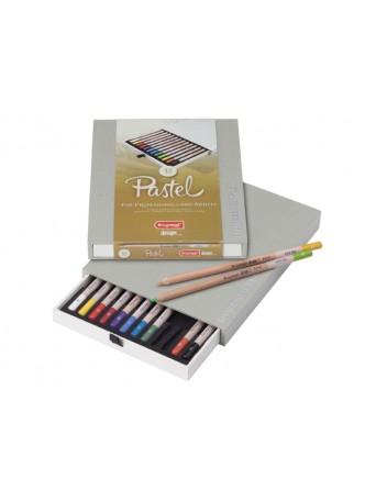 bruynzeel® Pastelky Suchý Pastel Design® - sada 12 ks.