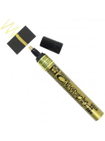 Sakura® popisovač Pen Touch™ Zlatý kaligrafický 5 mm