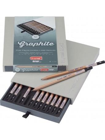 bruynzeel® Grafit Desing® - sada 12 ks