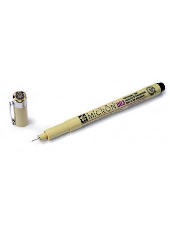 Sakura® pero Pigma Micron® 003 - 0.15 mm - černá