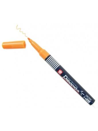 Sakura® popisovač Permapaque® 1 mm - oranžová