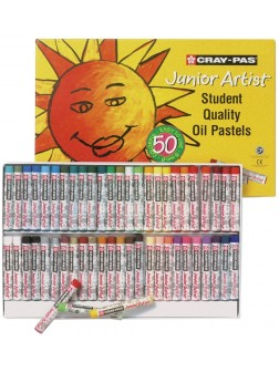 Olejové pastely Junior Artist 50 barev