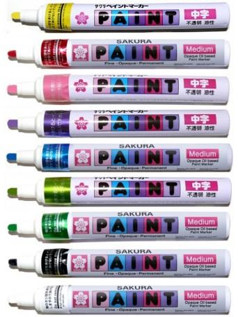 Sakura® popisovač Popisovač Paint - 9 barev