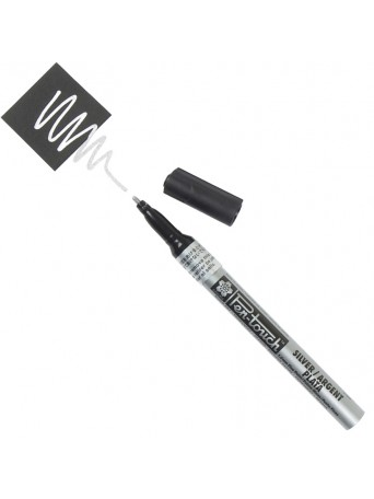 Sakura® popisovač Pen Touch™ Stříbrný kaligrafický 1.8 mm