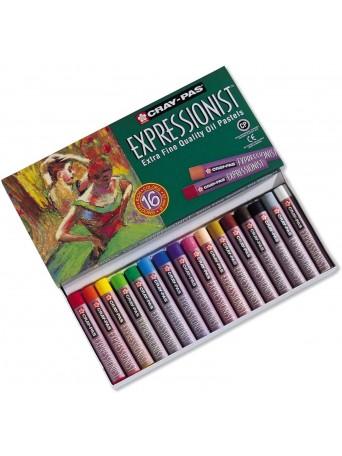 Sakura® Cray-Pas® Olejové pastely Expressionist™ - sada 16 ks.
