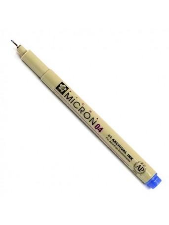 Sakura® pero Pigma Micron® 04 - 0.4mm - modrá
