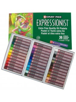 Olejové pastely Expressionist™ 36 barev