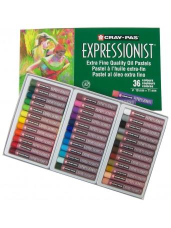 Sakura® Cray-Pas® Olejové pastely Expressionist™ - sada 36 ks.