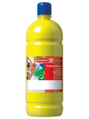 Školní plakátové barvy - citrónová žlutá