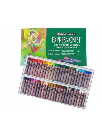 Sakura® Cray-Pas® Olejové pastely Expressionist™ - sada 50 ks
