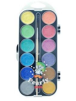 Perleťové vodové barvy