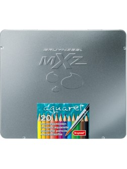Akvarelové pastelky mXz - sada 20 barev