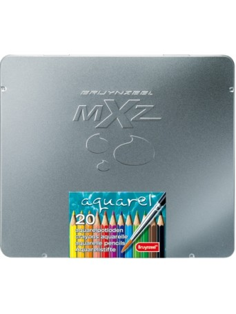 bruynzeel® Akvarelové pastelky mXz - sada 20 ks.