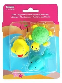 Guma 3D - vodní zvířata