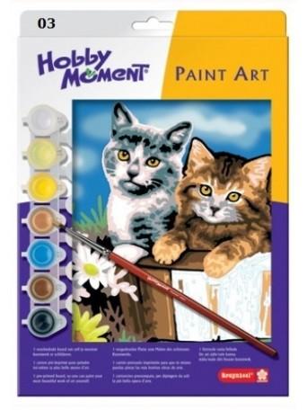 bruynzeel® Malování podle čísel - Dvě kočky v košíku