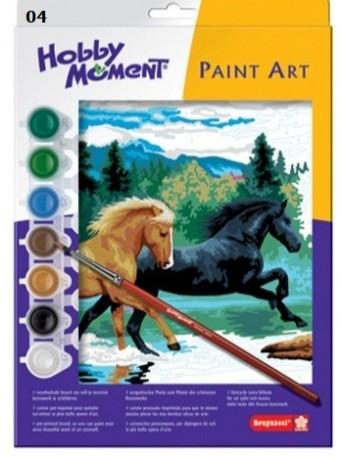 bruynzeel® Malování podle čísel - Běžící koně