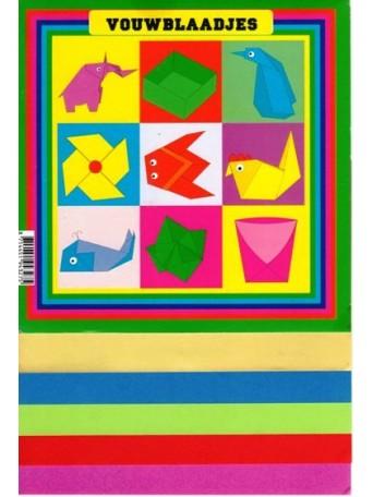 Beck Plastilin® Origami barevný papír 60 gr, 20x 20 cm, 90 ks.