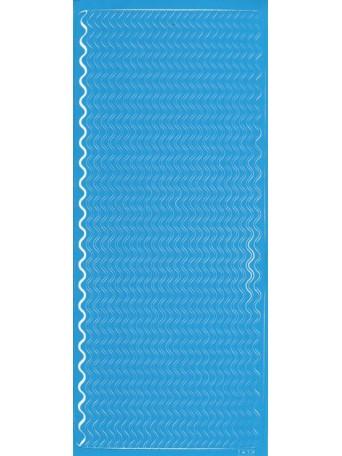 Peel Off´s Original 3D - Nálepky 3D Modrá - Vlnky