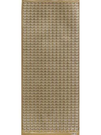 Peel Off´s Original 3D - Nálepky 3D Zlatá - Proužky ze Srdíček