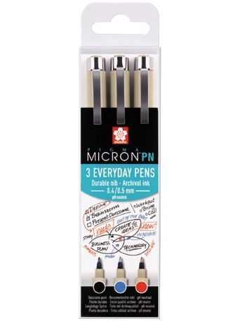 Sakura® pero Pigma Micron® PN  - sada Kancelář