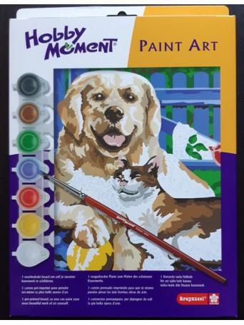 bruynzeel® Malování podle čísel - Pes a Kočka