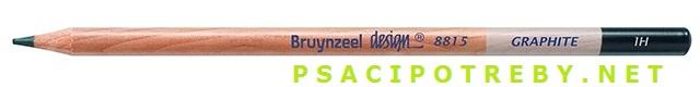 bruynzeel-sakura 8815/H grafitové tužky Design Graphite H, tuha 2,2 mm, jednotlivě