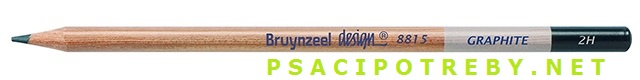 bruynzeel-sakura 8815/2H grafitové tužky Design Graphite 2H, tuha 2,2 mm, jednotlivě