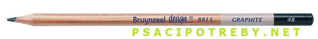 bruynzeel-sakura 8815/4B grafitové tužky Design Graphite 4B, tuha 2,8 mm, jednotlivě