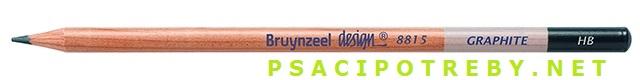 bruynzeel-sakura 8815/HB grafitové tužky Design Graphite HB, tuha 2,2 mm, jednotlivě