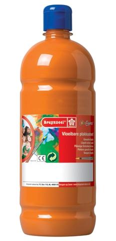 bruynzeel-sakura 9512-128 Temperové plakátové barvy 1000ml připravené k použití a na většinu materiálů oranzová