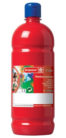 bruynzeel-sakura 9512-131 Temperové plakátové barvy 1000ml připravené k použití a na většinu materiálů světle červená