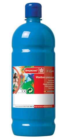 bruynzeel-sakura 9512-122 Temperové plakátové barvy 1000ml připravené k použití a na většinu materiálů světle modrá
