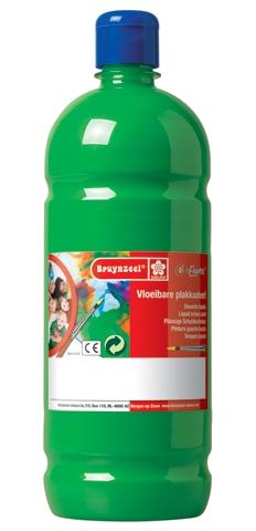 bruynzeel-sakura 9512-160 Temperové plakátové barvy 1000ml připravené k použití a na většinu materiálů světle zelená
