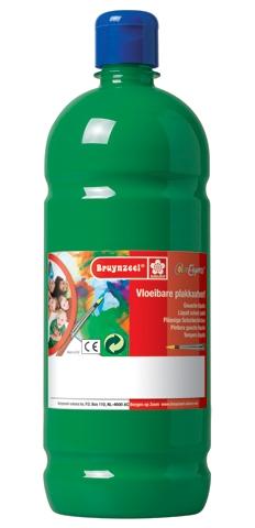 bruynzeel-sakura 9512-161 Temperové plakátové barvy 1000ml připravené k použití a na většinu materiálů tmavě zelená