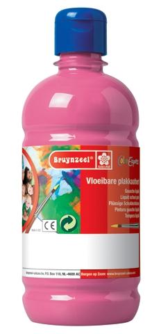 bruynzeel-sakura 9512-135 Temperové plakátové barvy 1000ml připravené k použití a na většinu materiálů růžová
