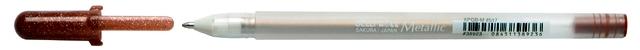 bruynzeel-sakura XPGB-517 Gelové pero metalické Gelly Roll Metallic 0.4 mm - sépie