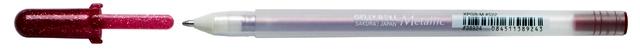 bruynzeel-sakura XPGB-522 Gelové pero metalické Gelly Roll Metallic 0.4 mm - vínová