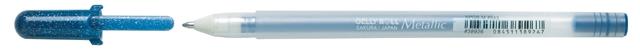 bruynzeel-sakura XPGB-543 Gelové pero metalické Gelly Roll Metallic 0.4 mm - černo-modrá