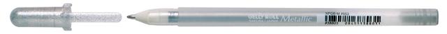 bruynzeel-sakura XPGB-553 Gelové pero metalické Gelly Roll Metallic 0.4 mm - stříbrná