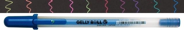 bruynzeel-sakura XPGB-436 Gelové pero pastelové Gelly Roll Moonlight 0.5 mm - pastelová modrá
