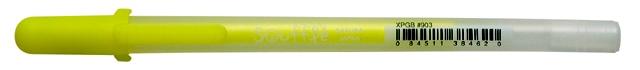 bruynzeel-sakura XPGB-903 Gelové pero 3D matné Gelly Roll Souflé 0.8 mm - žlutá