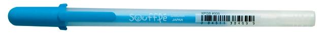 bruynzeel-sakura XPGB-936 Gelové pero 3D matné Gelly Roll Souflé 0.8 mm - modrá