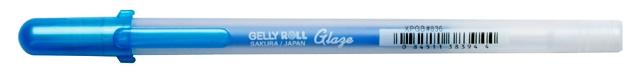 bruynzeel-sakura XPGB-836 Gelové pero 3D glazura Gelly Roll Glaze 0.8 mm - modrá