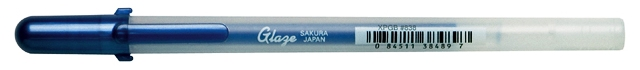 bruynzeel-sakura XPGB-838 Gelové pero 3D glazura Gelly Roll Glaze 0.8 mm - královská modř
