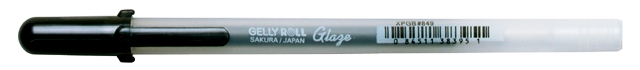 bruynzeel-sakura XPGB-849 Gelové pero 3D glazura Gelly Roll Glaze 0.8 mm - černá
