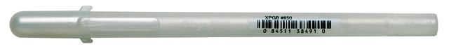 bruynzeel-sakura XPGB-850 Gelové pero 3D glazura Gelly Roll Glaze 0.8 mm - bílá