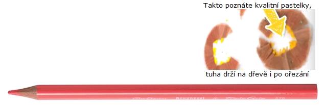 bruynzeel-sakura 3305/70 Trojhranné pastelky jednotlivě, tělová